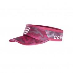 Visor Compressport Ultralight Camo Neon 2020 Rojo