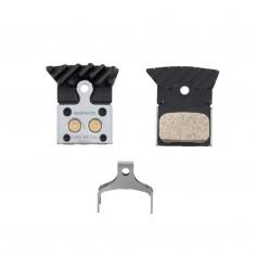 Pastillas de freno de disco Shimano L04C metálicas refrigeradas