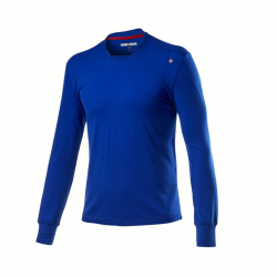 Castelli Merino Long Sleeve Blue Man T-Shirt