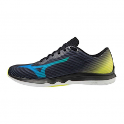 Zapatillas Mizuno Wave Shadow 4 Negro Amarillo OI20