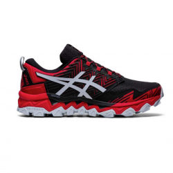 Asics Gel Fuji Trabuco 8 Black Red AW20 Men's Running Shoes