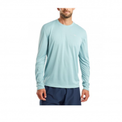 Saucony Long Sleeve T-Shirt Blue Man
