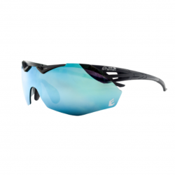 Eassun Avalon Matt Revo Blue and Black Sunglasses