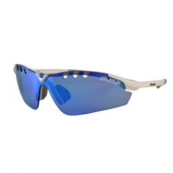 Eassun X-Light Sport Blue and White Sunglasses