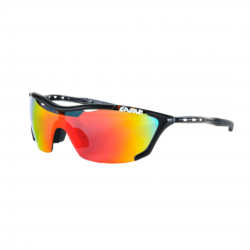 Eassun Record Black Red Glasses