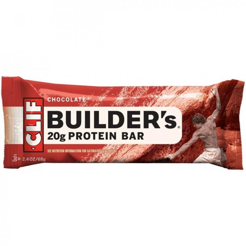 Barrita energética Clif Bar - Barritas de proteina Builders Chocolate- unidad
