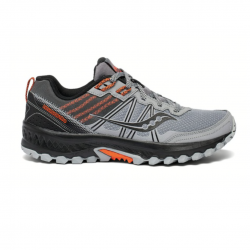 Saucony Excursion TR14 Running Shoes Gray Black Orange AW20