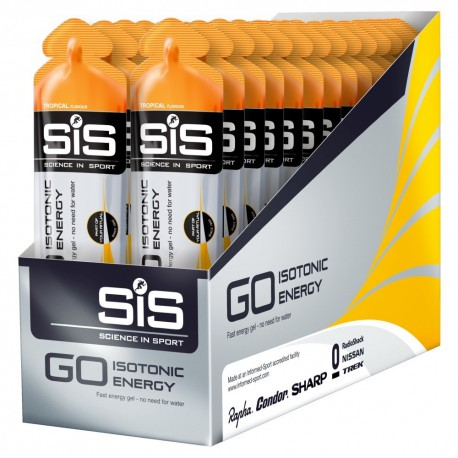 Go Isotonic Gel SIS Tropical 30udx60ml