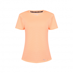 Saucony Short Sleeve Stopwatch T-shirt Salmon Woman