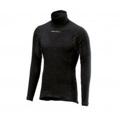 Camiseta interior Castelli Flanders manga larga Negro Hombre