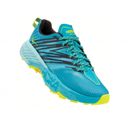 Hoka One One Speedgoat 4 Shoes Turquoise Blue Yellow AW20
