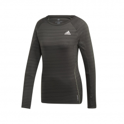 Adidas Adi Runner Gray Long Sleeve Woman T-Shirt