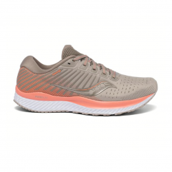 Zapatillas Saucony Guide 13 Naranja gris OI20 Mujer
