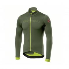 Castelli Fondo FZ Army Green Yellow Jersey