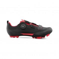 Fizik Terra X5 color Negro/Rojo - Zapatillas MTB