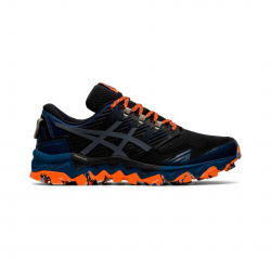 Asics Gel Fujitrabuco 8 Running Shoes Blue Gray Orange AW20