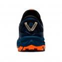 Zapatillas Asics Gel Fujitrabuco 8 Azul Gris Naranja OI20