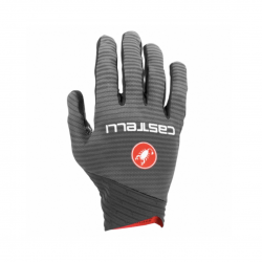 Castelli CW 6.1 Cross Gloves Gray Red
