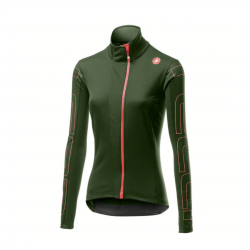 Castelli Transition Jacket Green camouflage Woman