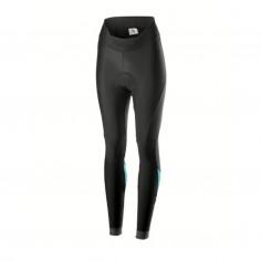 Castelli Velocissima Long Strapless Bib Shorts Black Blue Woman