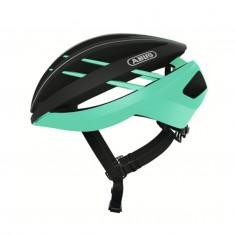 Abus Aventor Green Black Helmet