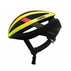 Abus Viantor Helmet Yellow Red