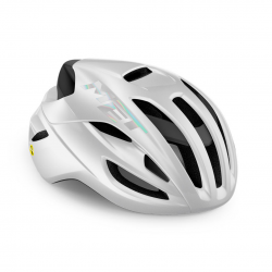 Casco Met Rivale Mips Blanco brillo