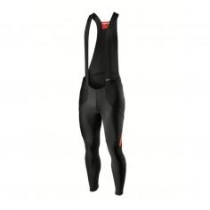 Castelli Sorpasso RoS long bib shorts Black red