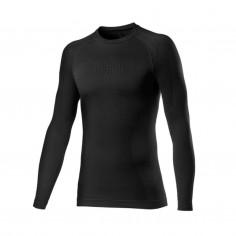 Camiseta interior Castelli Core Seamless manga larga negro