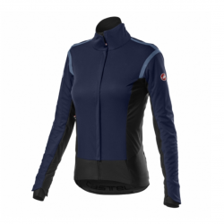 Castelli Alpha Ros 2 Light Blue Black Woman Jacket