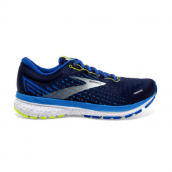 Zapatillas Brooks Ghost 13 Azul oscuro Amarillo OI20