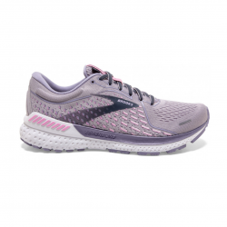 Zapatillas Brooks Adrenaline GTS 21 Lila Rosa PV21