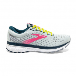 Zapatillas Brooks Ghost 13 Gris Coral PV21 Mujer