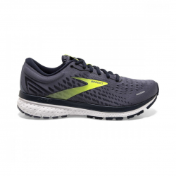 Zapatillas Brooks Ghost 13 Gris oscuro Lima OI20