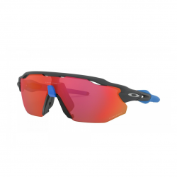 Oakley Radar Ev Advancer Matte carbon Prizm Trail torch glasses