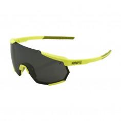 Gafas 100% Racetrap Amarillo- Lente Negro Mirror