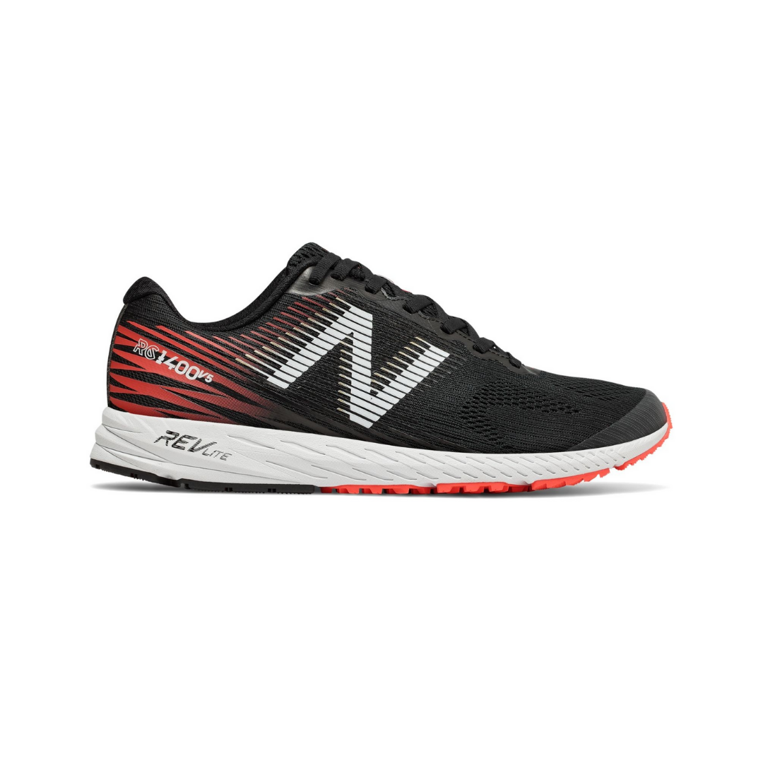 Zapatillas New Balance 1400 V5 Negro Rojo Hombre