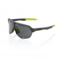 Gafas 100% S2 Soft tact Cool Negro Lente Ahumada