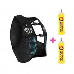 ARCh MAX hydration vest 6 L + 2 Soft Flask 500 ml Blue