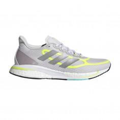Adidas Supernova + Gray Yellow Fluor PV21 Women's Running Shoes