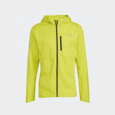Adidas Own The Run Jacket Yellow