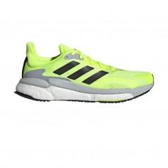Zapatillas Adidas Solar Boost 3 Amarillo Fluor Negro Gris PV21