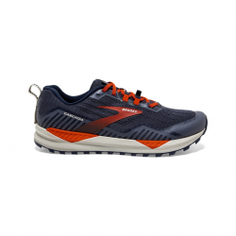 Brooks Cascadia 15 Blue Orange Men's Shoes