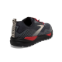 Zapatillas Brooks Cascadia 15 Negro Rojo Gris