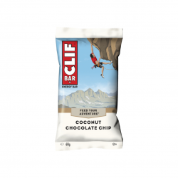 Clif energy bar (Coconut and chocolate chips)