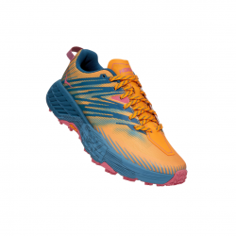 Hoka One One Speedgoat 4 Saffron Blue SS21 Women's Shoes