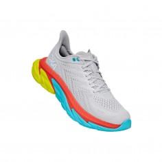 Hoka One One Clifton Edge Lunar rock White Running Shoes SS21