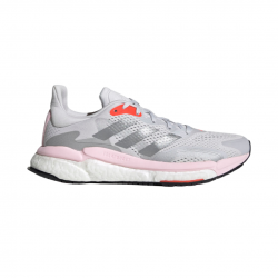 Adidas Solar Boost 3 Gray Pink Red SS21 Women's Running Shoes