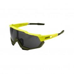 Gafas 100% Speedtrap Soft Tact Banana - Lente Negra