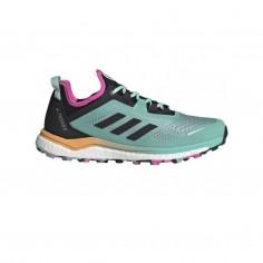 Zapatillas Adidas Terrex Agravic Flow Azul Morado SS21 Mujer